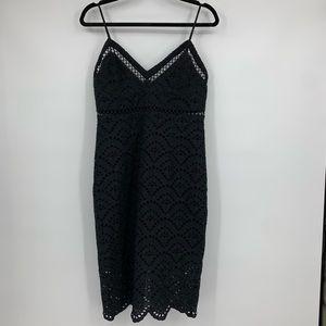 Bardot Nordstrom Womens Medium Sz8 Dress Black